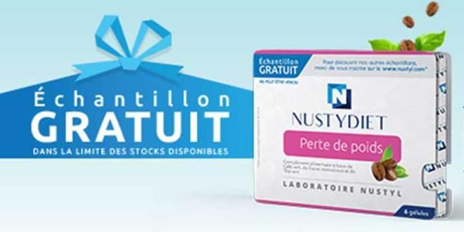 12'000 Échantillons gratuits de complément Nustydiet de Nustyl
