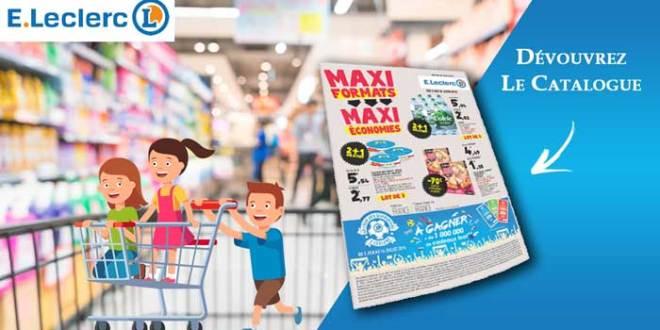 Catalogue E-Leclerc Du 05 Au 16 Juin 2018 Maxi Formats Maxi Économies