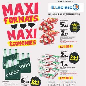 Catalogue E-Leclerc Du 28 Août Au 8 Septembre 2018