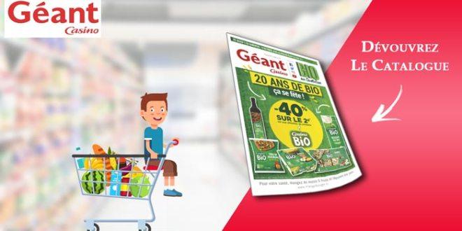 Catalogue Géant Casino BIO Du 2 Au 14 Octobre 2018