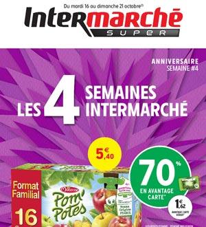 Catalogue Intermarché Super Du 16 Au 21 Octobre 2018