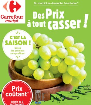 Catalogue Carrefour Market Du 09 Au 14 Octobre 2018
