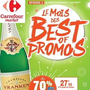 Catalogue Carrefour Market Du 6 Au 11 Novembre 2018 Le Mois Des Best Of Promos Épisode 2