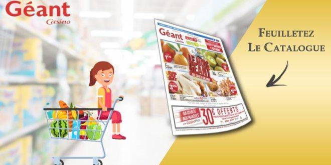 Catalogue Géant Casino Du 6 Au 18 Novembre 2018