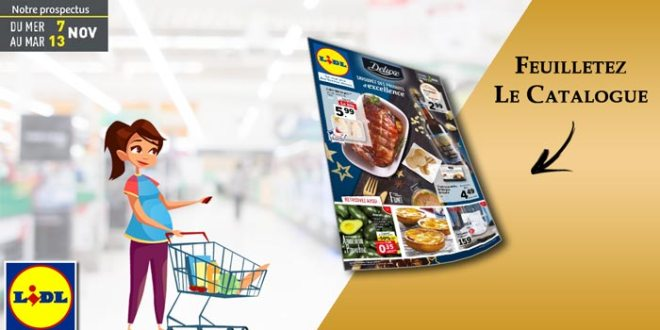 Catalogue Lidl Du 7 Au 13 Novembre 2018