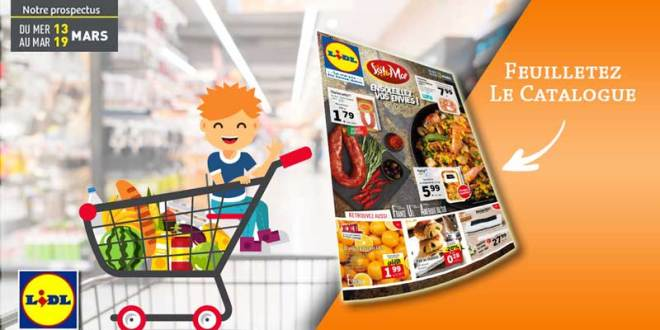 Catalogue Lidl Du 13 Au 19 Mars 2019