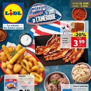 Catalogue Lidl Du 26 Juin Au 2 Juillet 2019