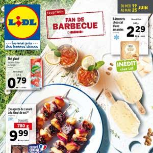 Catalogue Lidl Du 19 Au 25 Juin 2019