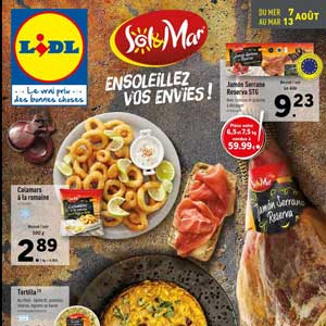 Catalogue Lidl Du 7 Au 13 Août 2019