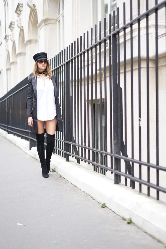 Un look édito digne des magazines de mode