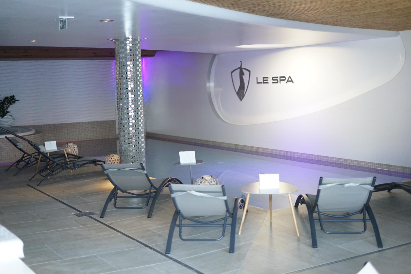 spa, jacuzzi, piscine, détente, espace, relaxation, val thorens, pashmina, hôtel spa pashmina, l'occitane