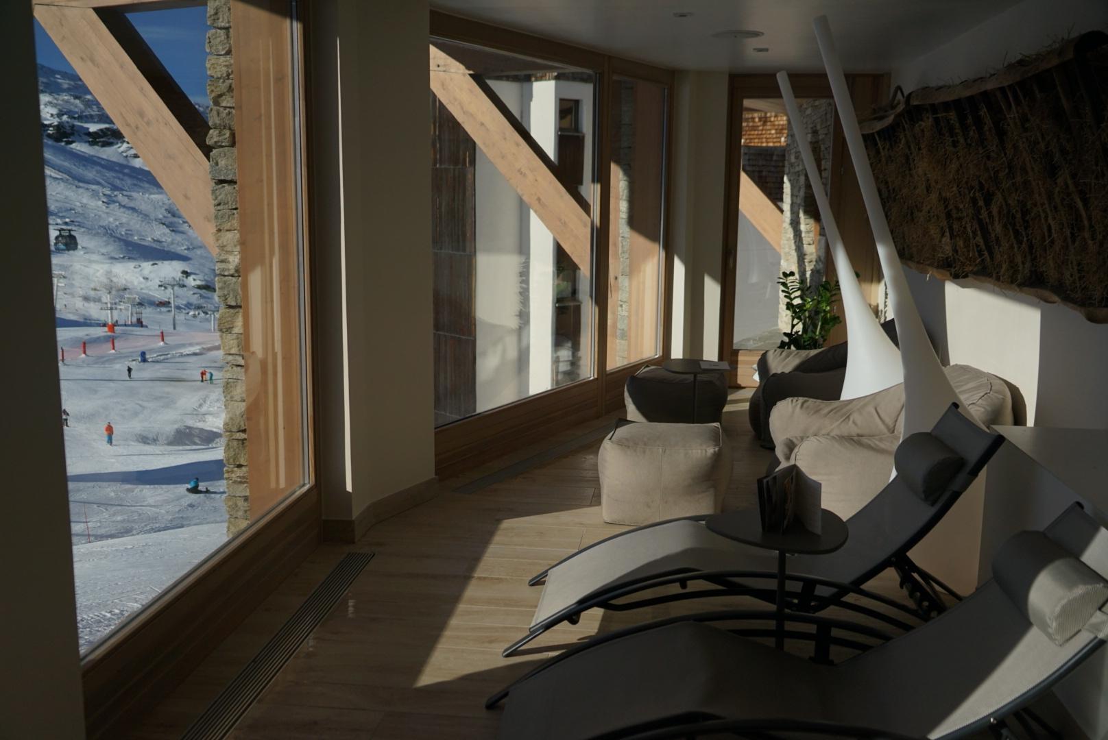 détente, spa, espace, val thorens, hôtel, hôtel pashmina, piscine, jacuzzi, hammam, saune, relaxation, l'occitane