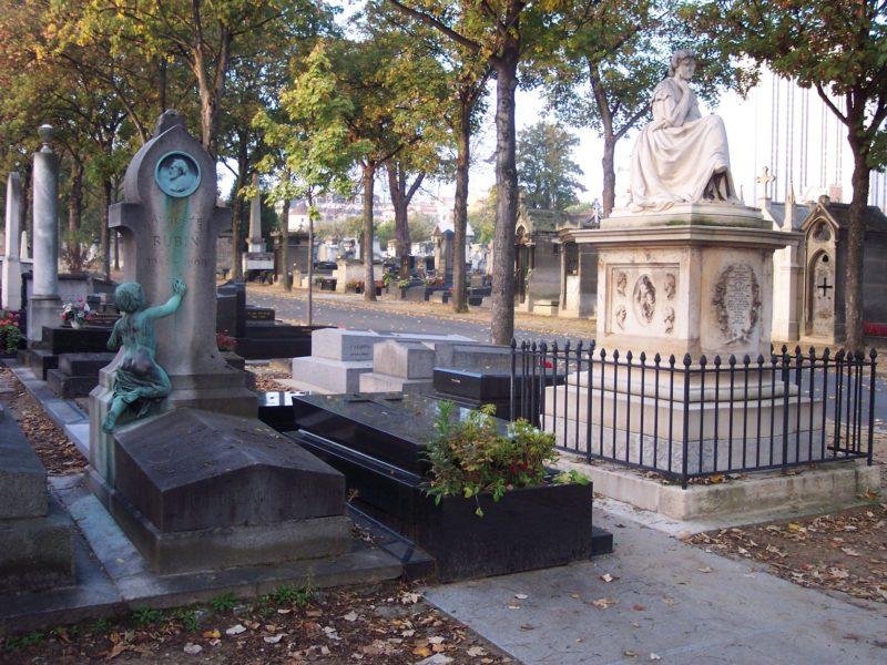Cimetière Montparnasse MonsieurMadame Claudia