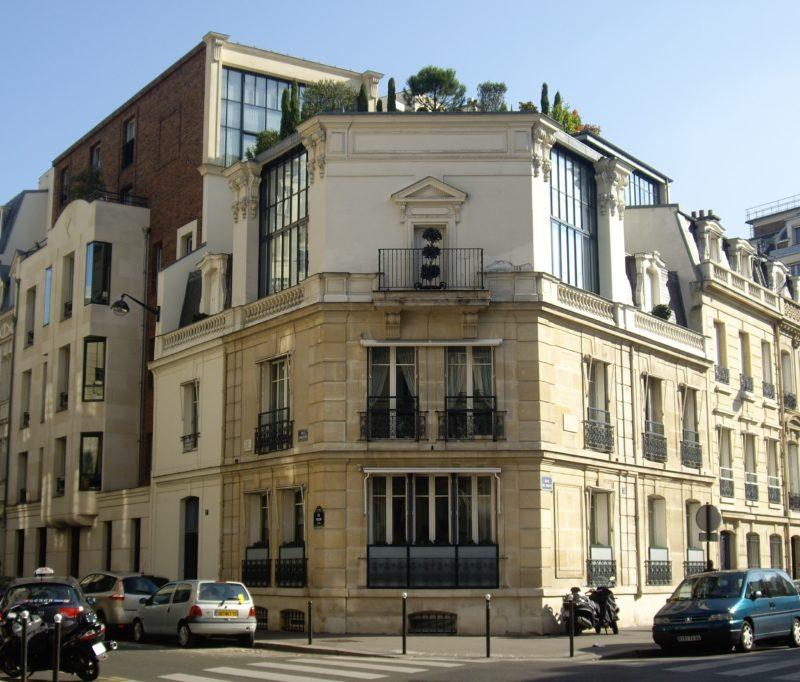 La rue Fortuny