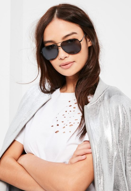 Lunettes aviator MissGuided