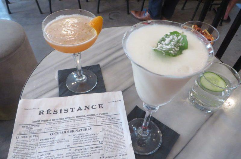 Les meilleurs cocktails du marais sont à la Résistance !