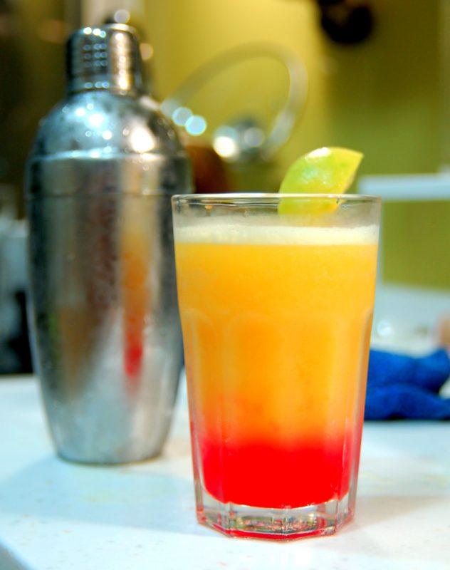 MonsieurMadame cocktail Tequila Sunrise