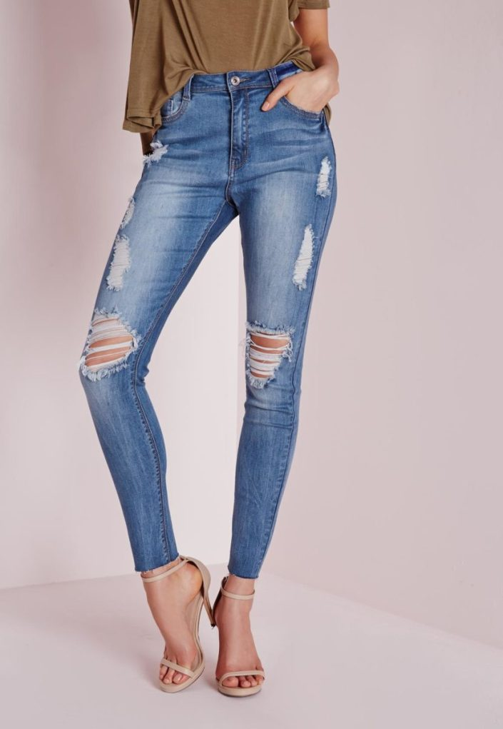 Jean skinny destroy MissGuided