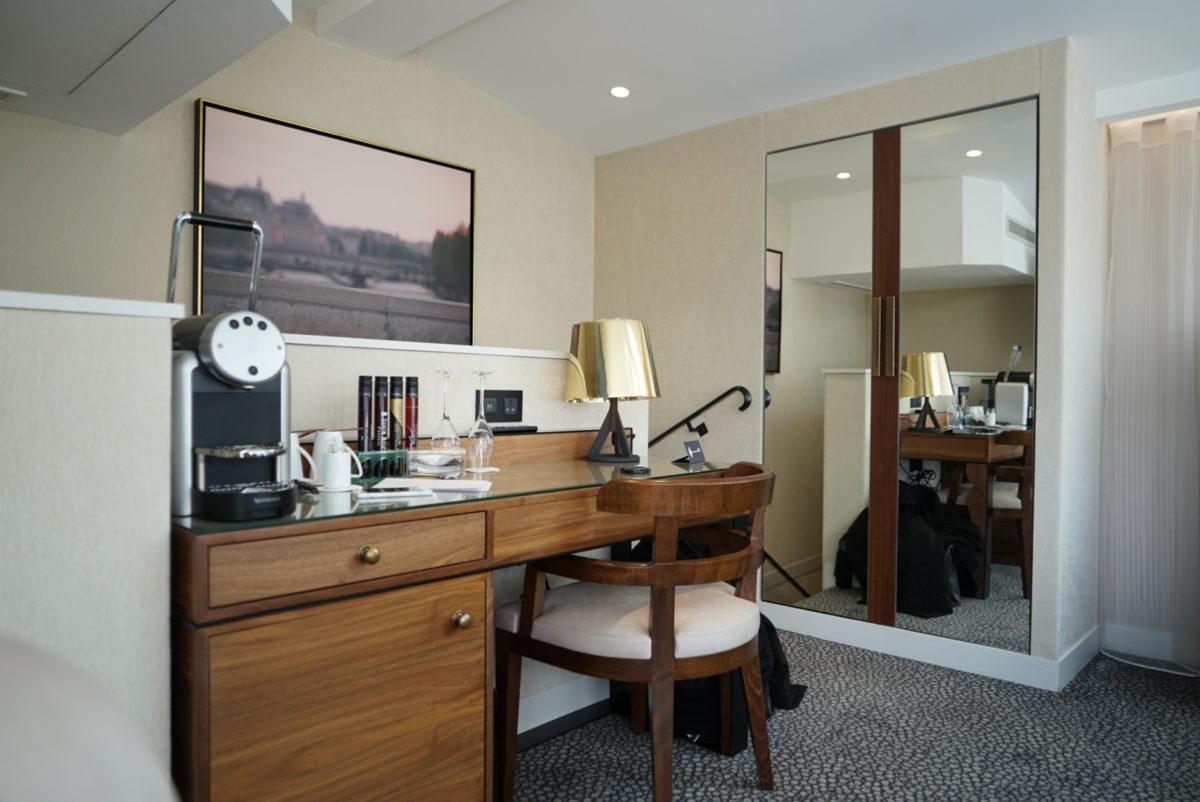 hôtel, chambre, suite, 1923, maison albar paris céline