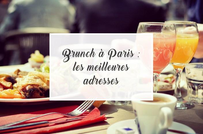 Brunch à Paris : les meilleures adresses