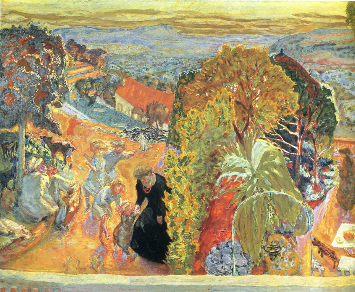 Tableau de Pierre Bonnard Source: Flickr