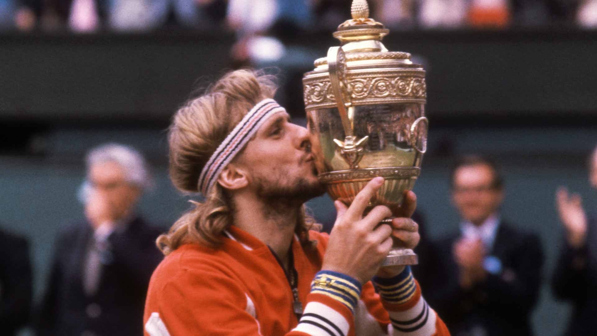 Victoire de Bjorn Borg Source: ATP World Tour