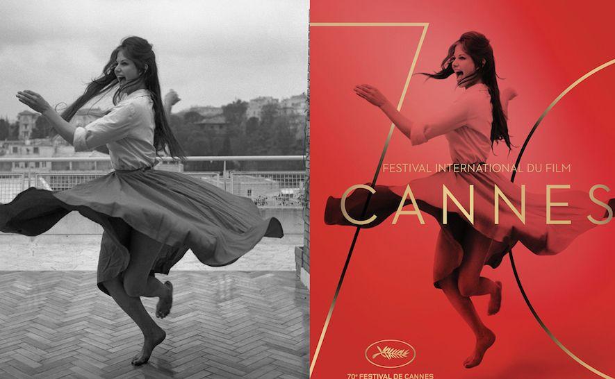 Affiche polémique avec photo avant/après retouches ; Source: Premiere