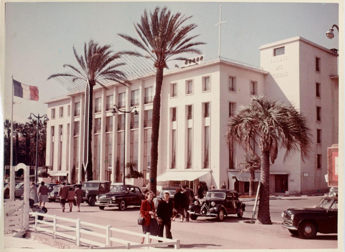 Ancien Palais des Festivals de Cannes ; Source: Saint-Gobin