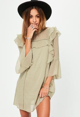 robe-verte-fluide--froufrous