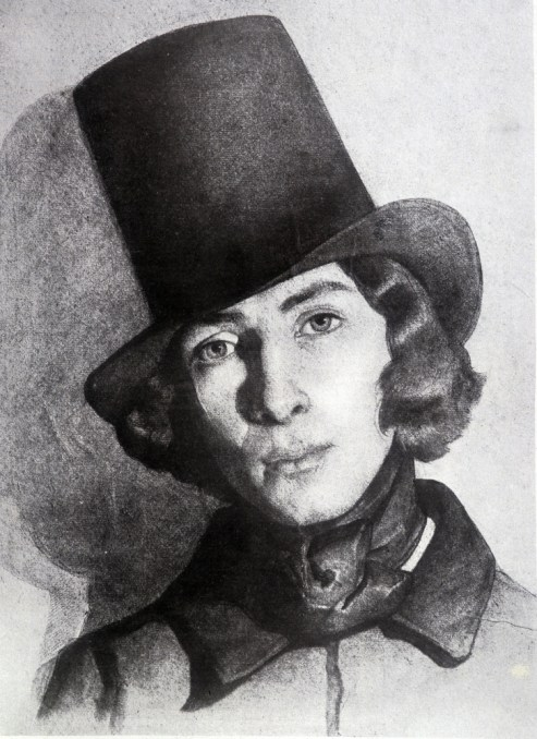 George Sand en costume masculin (XIXe) Source: La parisienne et la ville à l'époque romantique – courrier de paris courrier de paris - WordPress.com