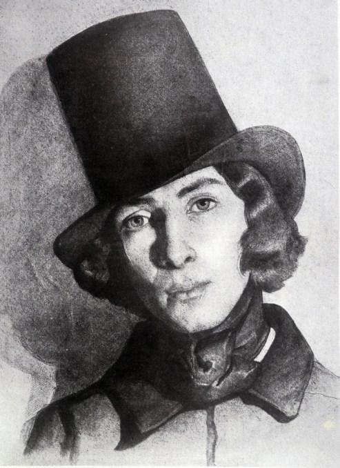 George Sand en costume masculin (XIXe) Source: La parisienne et la ville à l'époque romantique – courrier de paris courrier de paris - WordPress.com