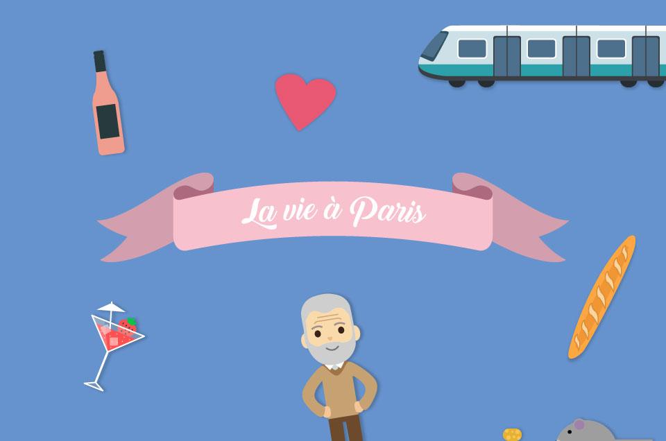 Infographie : La vie à Paris en chiffres
