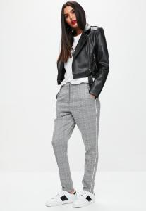 pantalon-cigarette-gris-imprim-carreaux