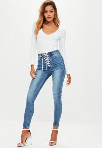 jean-skinny-bleu-dlav-taille-haute--lacets