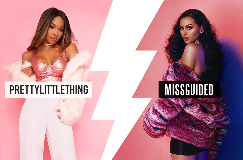 FASHION BATTLE : MISSGUIDED vs PRETTY LITTLE THINGS