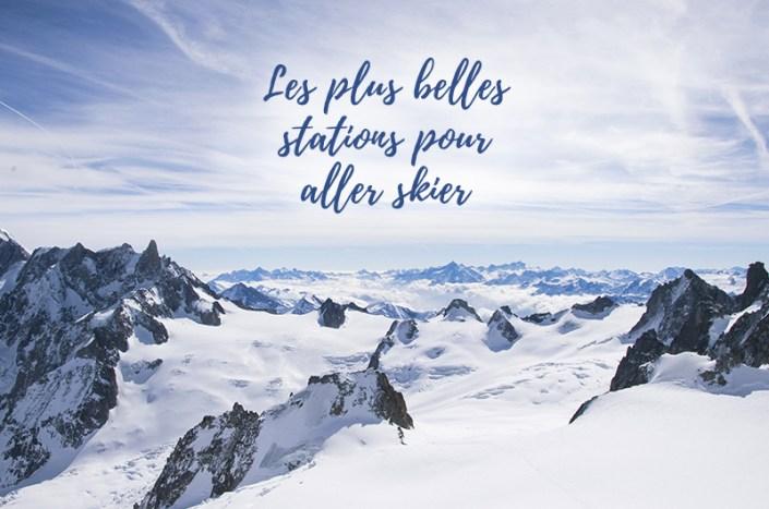 Les plus belles stations de ski