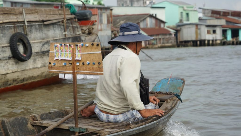 Mékong, Floating market, vietnam