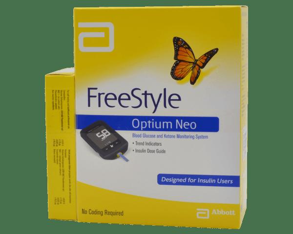 Glucómetro FreeStyle Optium Neo