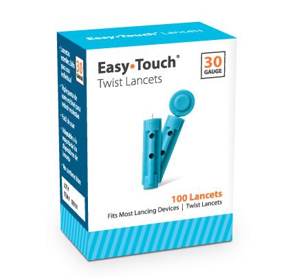 Lancetas Easy Touch calibre 30