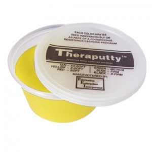 Masilla Terapéutica Theraputty Yellow