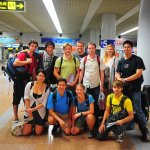 My fellow travelers of Young Pioneers Tour…for surviving 4 unforgettable days in North Korea with me. 08/08/11.
