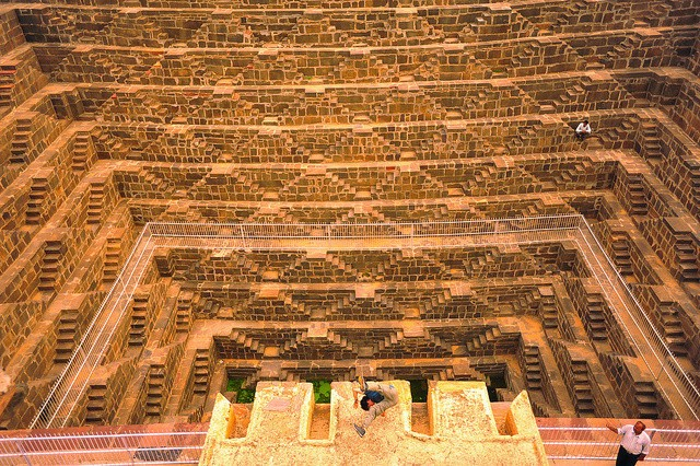 Geometric Brilliance: Abhaneri & Chand Baori