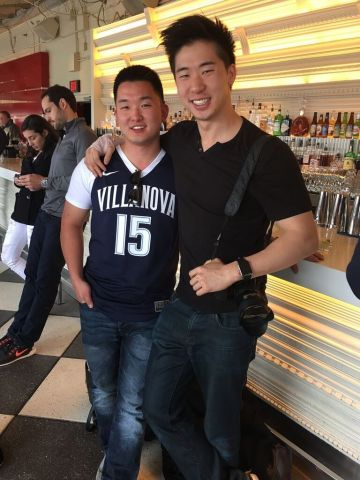 Eugene Mok...for meeting up with me not only once but twice when I visited DC on a day trip to the annual cherry blossom festival. Thank you for introducing me to POV bar without knowing I had already tried to incorporate that into my agenda, and hanging out with me again over hookah a few hours before my bus ride home. 03/27/16.