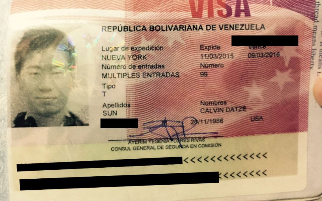 The Venezuela Visa Requirements For U.S. Citizens