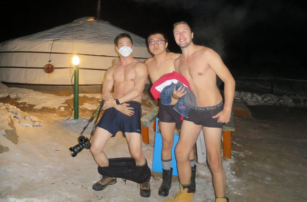 Going Streaking In A Mongolian Winter