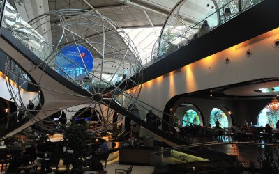 """Turkish Airlines First Class & """"Lounge Istanbul"""": Best Airline Lounge In The World?"""