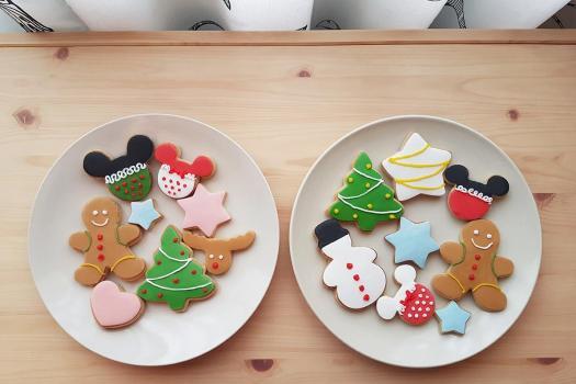 galletas navidad decoradas con fondant