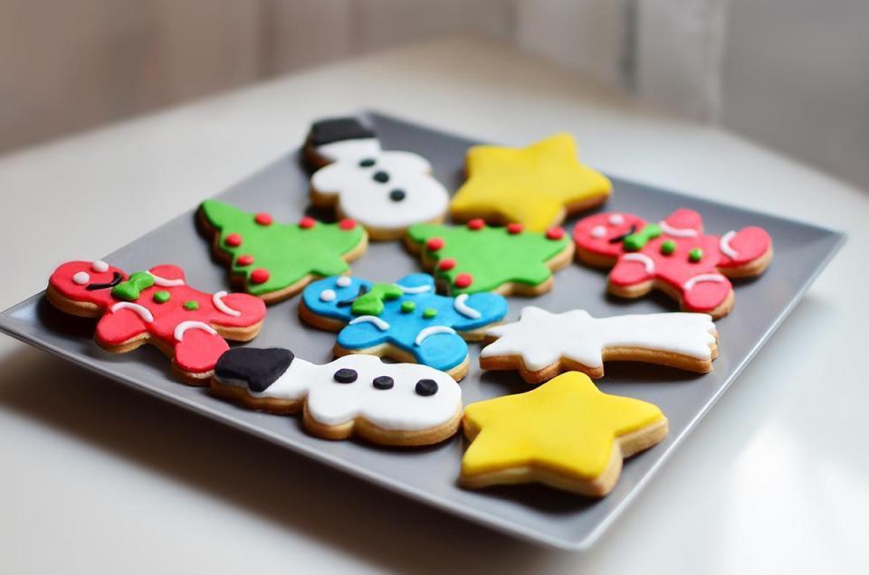 galletas navidad decoradas fondant