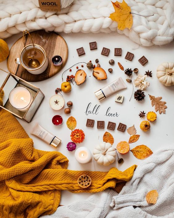 flatlay tips and inspiration - fall lover