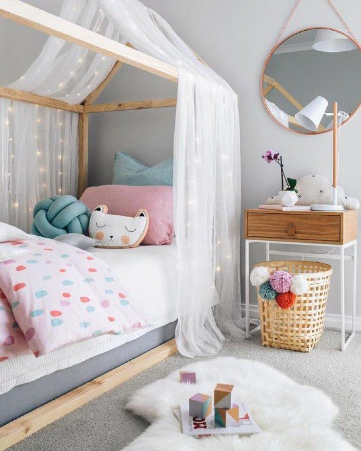 montessori bedroom - habitacion infantil - dormitorio montessori - cama - bed 4